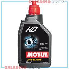 MOTUL HD SAE 80W90 OLIO MINERALE TRASMISSIONE API GL 4 & 5 1LT 3374650011356