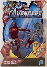 "IRON MAN -HEAVY ARTILLERY- The Avengers Movie Concept Series 4"" Figure #3 2012"