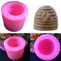 Bee Hive Silicone Fondant Soap Candle Mould Cake Decor Sugarcraft Handmade Mold