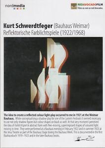 DVD  Kurt Schwerdtfeger (Bauhaus Weimar) - Reflektorische Farblichtspiele