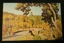Invergarry, Inverness-shire & vintage cars... Scotland RP N.P.O. Postcard