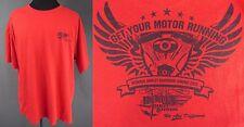 Harley Davidson Bumpus Spring 2012 Red 3XL Tee Shirt Motorcycle Ride A7