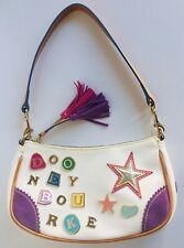 Dooney & Bourke Vintage 90s Logo Charms Limited Edition Mini Hobo Hand Bag Purse