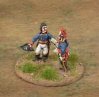 Napoleon  command base  Painted 28mm Metal