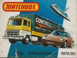 MATCHBOX CATALOGUE 1979/80   (+1)