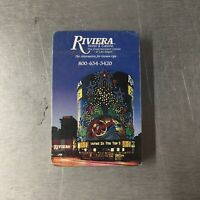 Riviera Hotel & Casino Playing Cards Las Vegas