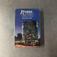 Riviera Hotel & Casino Playing Cards Las Vegas