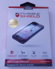 Zagg Invisible Shield Smudge Proof iPhone 5/5s/5c NEW R16189
