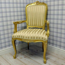 Fabric French Louis Style Chairs