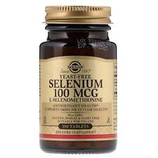 Selenium, Yeast-Free, 100 mcg, 100 Tablets