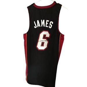 Lebron James Autographed Signed Jersey Miami Heat  auto W/ COA