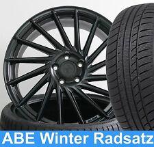"""19"""" ABE Winterräder KT17 MATT Black 235/35 NEU für Audi TT Cabrio 8J"""