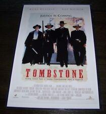 Tombstone 11X17 Movie Poster Russell Kilmer Biehn