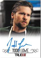 True Blood Archives Auto Autograph Card Todd Lowe Terry Bellefleur
