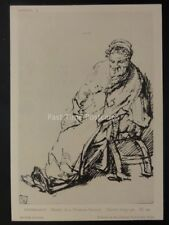Drawings by Rembrandt STUDY OF A WOMAN SEATED British Museum