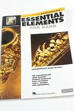 Hal Leonard Essential Elements for Band - Eb Alto Saxophone 1 Book #R2940