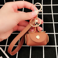 Women Key chain Bag Key ring Key Chain Mini Bag Handbag Charm Bag Accessory #