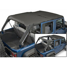 Rampage Combo Brief & Topper 07-16 Jeep Wrangler JKU 4 Door 94935 Black Diamond