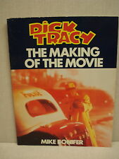 """""""DICK TRACY-MAKING OF THE MOVIE"""" BOOK BY DISNEY, 1990, WARREN BEATTY, MADONNA"""