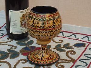 NEW Hittite design Wine cup - Large Yellow
