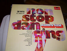 JAMES LAST NON STOP DANCING 7 28 HITS FOR A SWINGING PARTY-VINYL-VG+