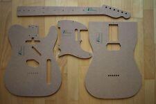 '53 Tele Schablonen für Gitarrenbau Templates z.B. Fender Telecaster Reparatur