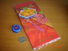 Singapore, 1 pack of JP Morgan, Angpow Hongbao Envelops, 10 pieces, New