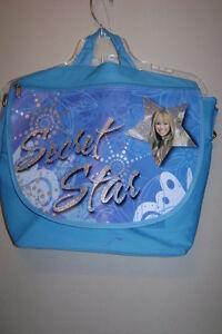 Limited Too Hannah Montana Messenger Bag+Water Bottle