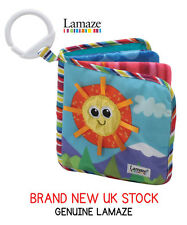 Lamaze Classic Discovery Textured Book Soft Baby Toddler Child Books Development