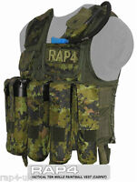 Top Quality Nylon Cordura Tactical Vest for Paintball Large CADPAT [OS11-3]