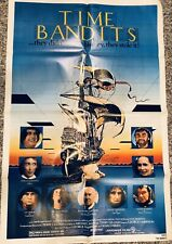 TIME BANDITS 1981 One Sheet Movie Poster Monty Python Terry Gilliam John Cleese