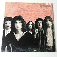 Sparks - Self Titled Debut - Vinyl LP US 1st Press 1972  Bearsville + Insert