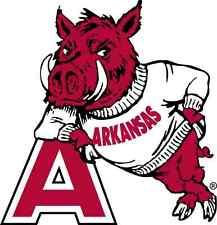 Arkansas Razorbacks NCAA Color Die-Cut Decal / Car Sticker *Free Shipping