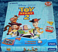 VTECH Disney Toy Story 2 VSmile Smartbook Book & Cartridge New in Box Game NIB