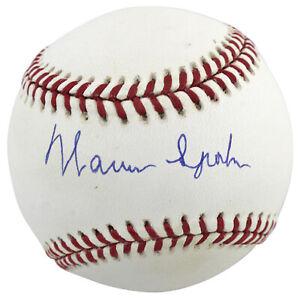Braves Warren Spahn Authentic Signed Onl Baseball Autographed BAS #H93803