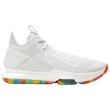 Nike Lebron Witness 4 IV White Fruity Pebbles Mens Basketball Shoes 2020 All NEW