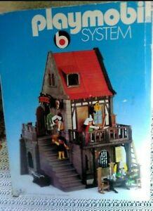 Playmobil Fachwerkhaus Rathaus 3447 in OVP von 1977 Schenke Butzenfenster Burg