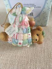 Cherished Teddies Baby in Blanket Ornament 864242 - Neu und originalverp