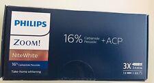 Philips Zoom Whitening 16% Nitewhite , 3x Syringe Box , Expiry 12/2021