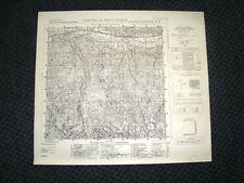 Grande carta topografica Castello dell'Acqua e dintorni Dettagliatissima I.G.M.