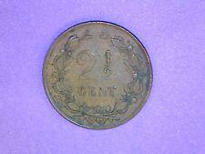 Netherlands - 2-1/2 Cent - 1886 - KM# 108.1