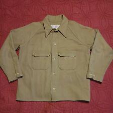 New listing Genuine Vintage Filson Garment Shirt Jacket 100% Virgin Wool 60's-70's Tan/Beige