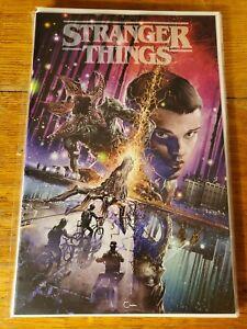 Stranger Things #1 - Clayton Crain Variant Cover - 2018 Dark Horse nm