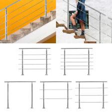 Geländer Treppengeländer Edelstahl Handlauf Balkon Innen&Außen Querstabhalter
