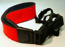 Op/tech USA Neoprene Camera Neck Shoulder Strap w/ quick release RED