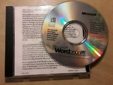 ☆☆PC CD-ROM - Microsoft Word 2000 - Disc☆☆