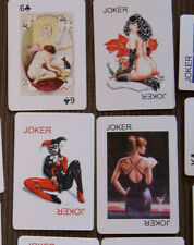 playing cards nude russian pin up girls  play cards