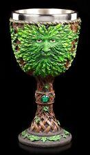 Kelch mit Waldgeist - Heart of Forest - Fantasy Greenman Baumgeist Wicca Natur