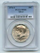 1976 S 50C Silver Kennedy Half Dollar PCGS MS66