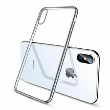 iPhone 5g,5s, 5c Case Shock Proof Crystal Clear Soft Silicone Gel Cover Slim
